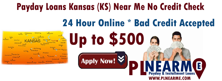 Payday Loans Kansas (KS) Near Me No Credit Check